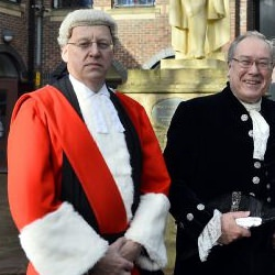 Picture Of High Sheriff award for woman who helped foil thief