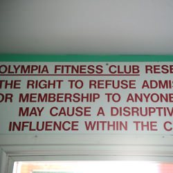 Picture Of Remember this gym? Take a look inside the old Olympia building in Redcar