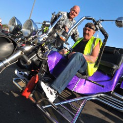 Picture Of Farewell: Tributes to Weymouth Bike Night founder