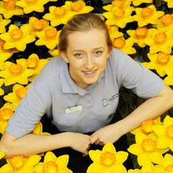 Picture Of Dumfries garden centre launches spring-time charity campaign for Marie Curie