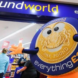 Picture Of Poundworld ready to open in Falkirk High Street
