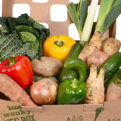 Picture Of Asda stores across Scotland to launch wonky veg