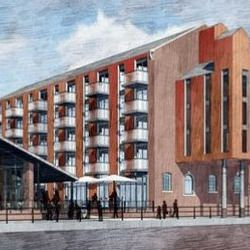 Picture Of New images show Bakers Quay redevelopment plan