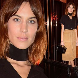 Picture Of Alexa Chung teams up with Mandamp;S for archive-based fashion collection