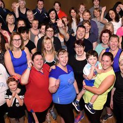 Picture Of Kilmarnock fitness fanatics take on a marathon of classes