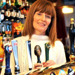 Picture Of Pub landlady hopes to hand over reins at much-loved Castle Inn