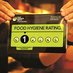 Picture Of Food Standards Agency ratings for businesses across Tonbridge and Malling